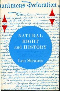 Leo Strauss' Natural Right and History